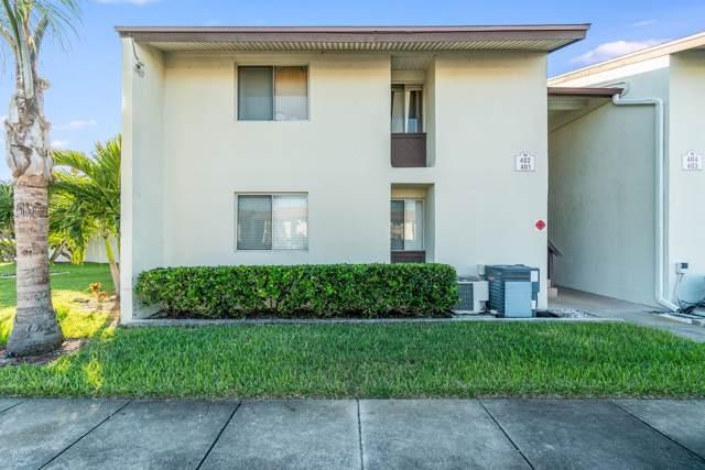 5801 N Atlantic Avenue #402, Cape Canaveral, FL 32920 (MLS #860830) :: Premium Properties Real Estate Services