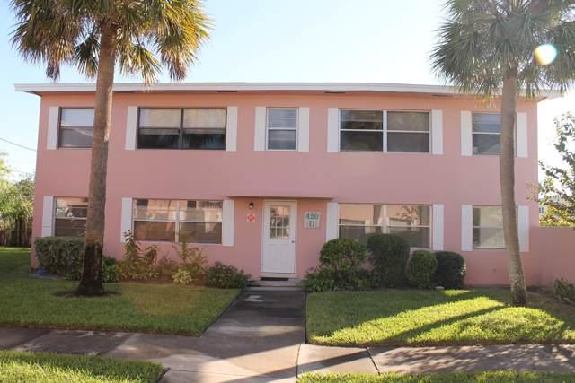 420 Monroe Avenue #102, Cape Canaveral, FL 32920 (MLS #861371) :: Premium Properties Real Estate Services