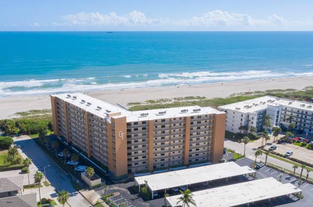 7520 Ridgewood Avenue #104, Cape Canaveral, FL 32920 (MLS #862529) :: Engel & Voelkers Melbourne Central