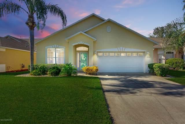 1544 Ficus Point Drive, Melbourne, FL 32940 (MLS #862610) :: Blue Marlin Real Estate