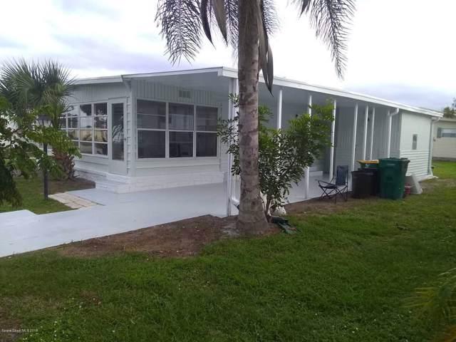 883 Hawthorn Circle, Barefoot Bay, FL 32976 (MLS #862966) :: Armel Real Estate