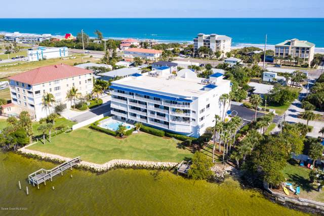 210 24th Street #304, Cocoa Beach, FL 32931 (MLS #865376) :: Blue Marlin Real Estate