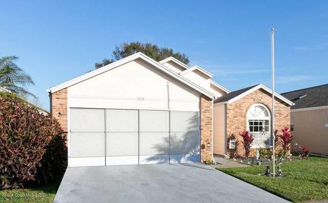 1058 S Fork Circle, Melbourne, FL 32901 (MLS #865439) :: Blue Marlin Real Estate
