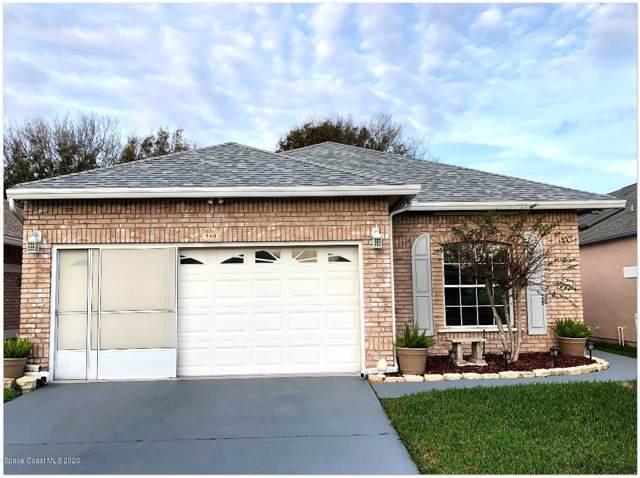 940 S South Fork Circle, Melbourne, FL 32901 (MLS #865440) :: Premium Properties Real Estate Services