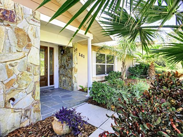 141 Via Havarre, Merritt Island, FL 32953 (MLS #865670) :: Premium Properties Real Estate Services