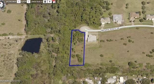 7007 Preserve Pointe Drive, Merritt Island, FL 32953 (MLS #865830) :: Premium Properties Real Estate Services