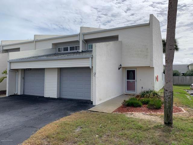 810 Poinsetta Drive #12, Indian Harbour Beach, FL 32937 (MLS #866122) :: Armel Real Estate