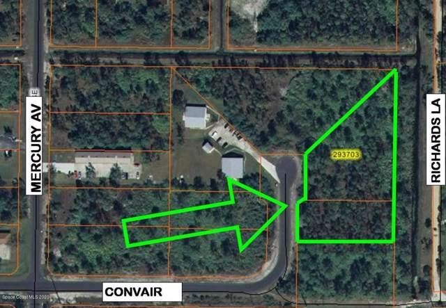 1950&1980 SE Convair Street SE, Palm Bay, FL 32909 (MLS #866171) :: Blue Marlin Real Estate