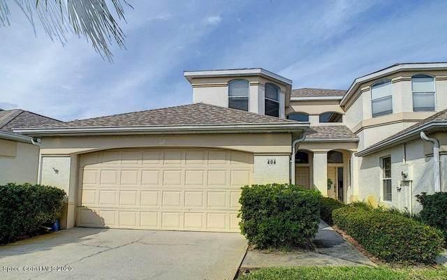 404 Espana Court #404, Satellite Beach, FL 32937 (MLS #867713) :: Blue Marlin Real Estate