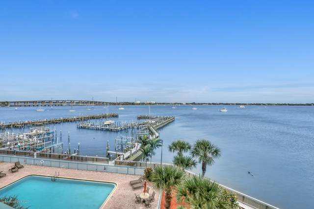 102 Riverside Drive #405, Cocoa, FL 32922 (MLS #867914) :: Premium Properties Real Estate Services