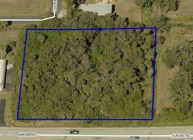 0000 N Aurora Road N, Melbourne, FL 32935 (MLS #868395) :: Blue Marlin Real Estate