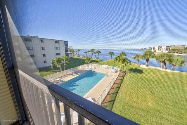 3873 S Banana River Boulevard #301, Cocoa Beach, FL 32931 (MLS #868457) :: Premium Properties Real Estate Services