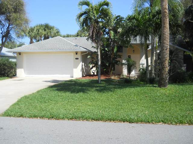 6727 Angeles Road, Melbourne Beach, FL 32951 (MLS #868760) :: Premium Properties Real Estate Services