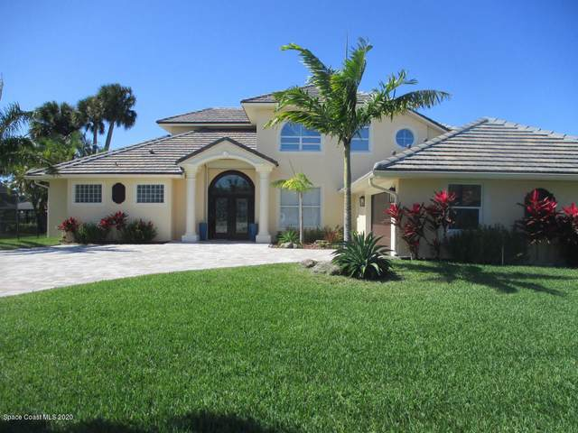 134 Island View Drive, Indian Harbour Beach, FL 32937 (MLS #868999) :: Premium Properties Real Estate Services