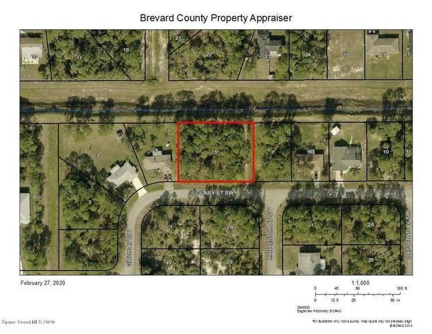 1127 Geary Street SW, Palm Bay, FL 32908 (MLS #869173) :: Premier Home Experts