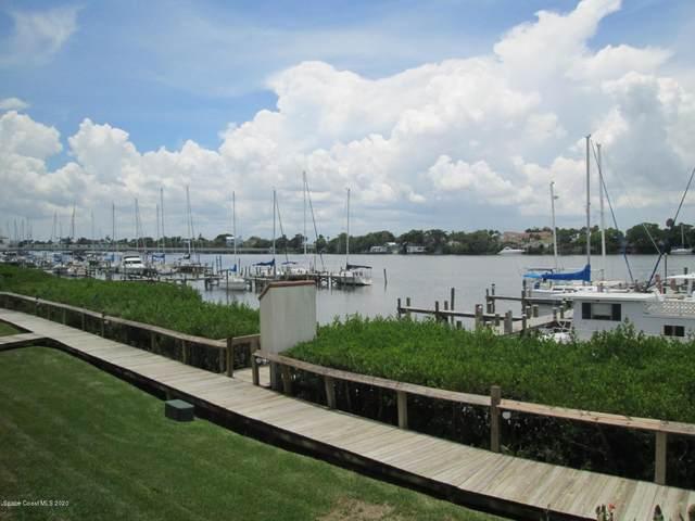 18 Marina Isles Boulevard #105, Indian Harbour Beach, FL 32937 (MLS #869220) :: Blue Marlin Real Estate