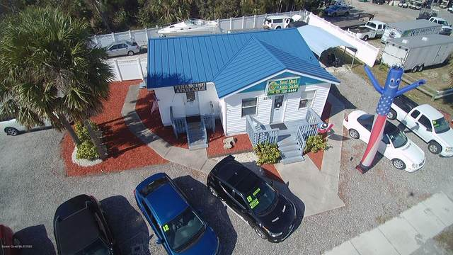 5520 N Highway 1 Harbor City Boulevard, Melbourne, FL 32940 (MLS #869420) :: Blue Marlin Real Estate