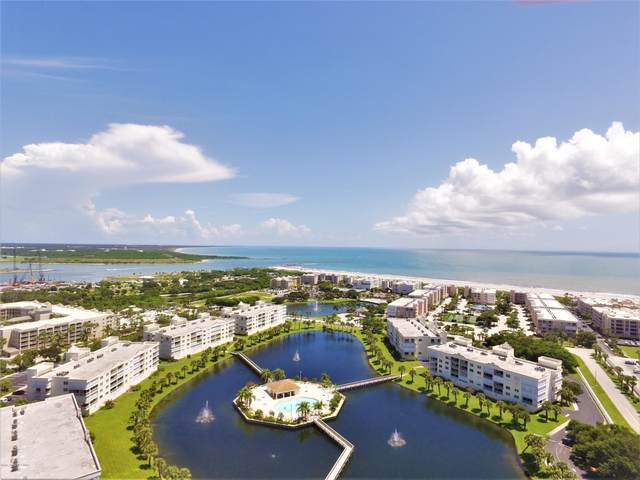 8871 Lake Drive #401, Cape Canaveral, FL 32920 (MLS #869624) :: Premium Properties Real Estate Services