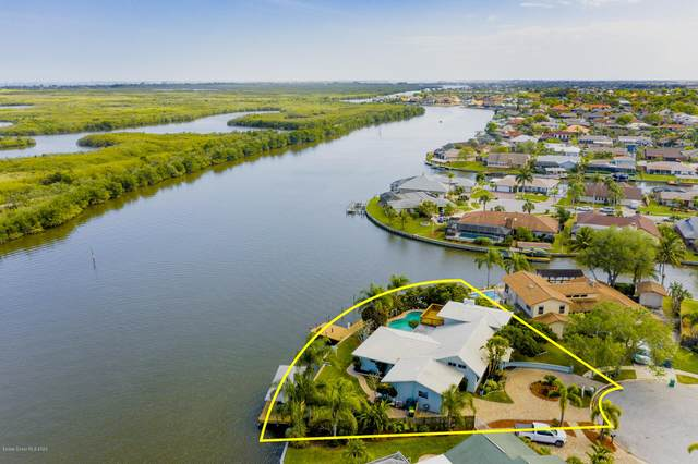 277 Via De La Reina, Merritt Island, FL 32953 (MLS #871786) :: Blue Marlin Real Estate