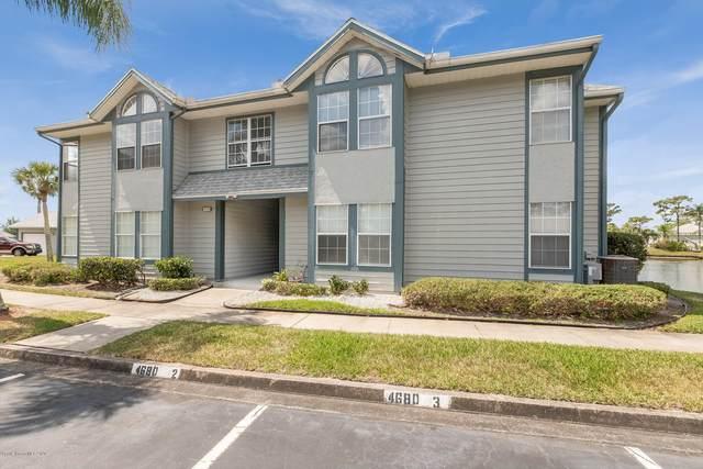 4680 Lake Waterford Way #2108, Melbourne, FL 32901 (MLS #871860) :: Blue Marlin Real Estate