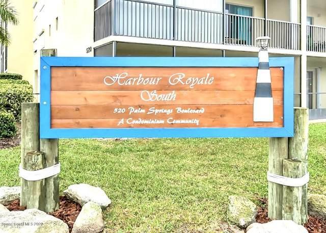 520 Palm Springs Boulevard #611, Indian Harbour Beach, FL 32937 (MLS #871965) :: Premium Properties Real Estate Services