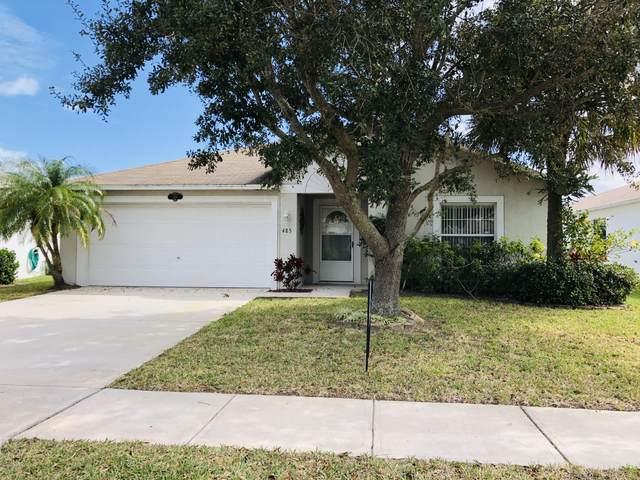 485 Benton Drive, Melbourne, FL 32901 (MLS #872083) :: Premium Properties Real Estate Services