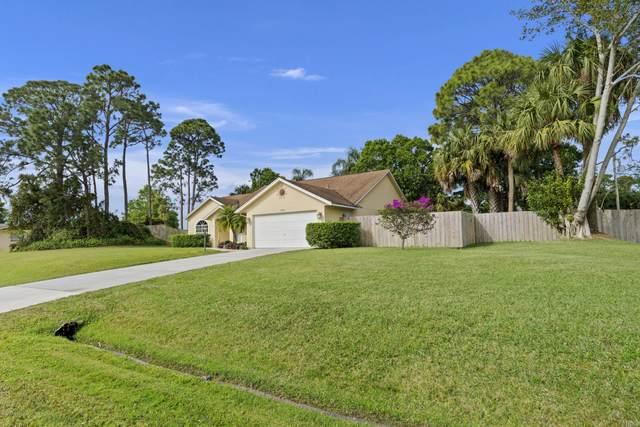 1730 SW Davis Street, Port Saint Lucie, FL 34953 (MLS #872320) :: Blue Marlin Real Estate