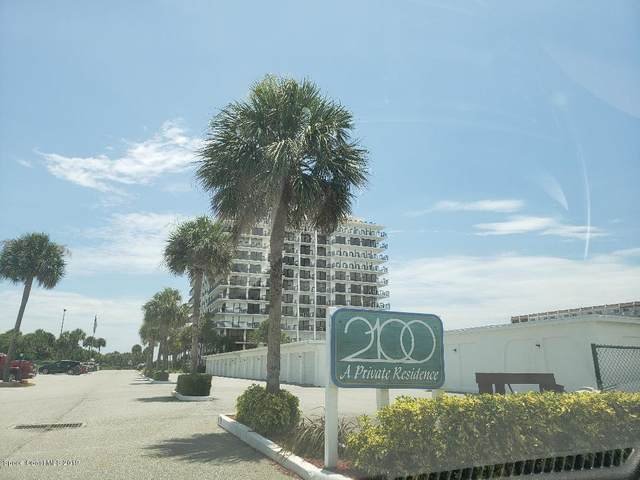 2100 N Atlantic Avenue #607, Cocoa Beach, FL 32931 (MLS #872815) :: Coldwell Banker Realty