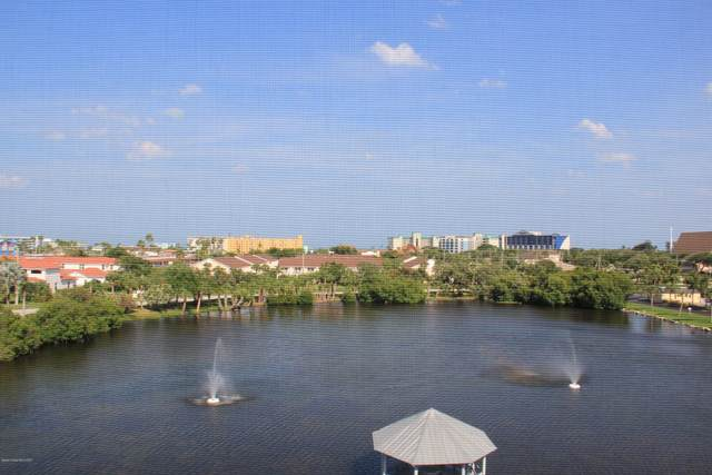 3613 S Banana River Boulevard D-506, Cocoa Beach, FL 32931 (MLS #873422) :: Premium Properties Real Estate Services