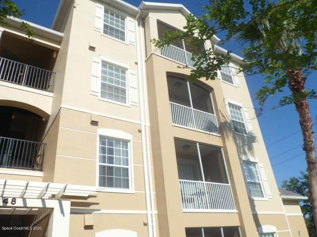 3848 Lexmark Lane #408, Rockledge, FL 32955 (MLS #873517) :: Blue Marlin Real Estate