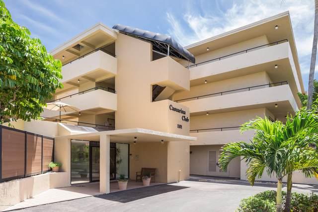 1101 S Miramar Avenue #208, Indialantic, FL 32903 (MLS #874360) :: Blue Marlin Real Estate