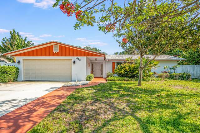 413 6th Avenue, Melbourne Beach, FL 32951 (MLS #874800) :: Blue Marlin Real Estate