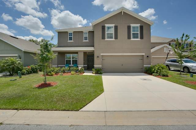 275 Sutherland Drive SW, Palm Bay, FL 32908 (MLS #874855) :: Blue Marlin Real Estate