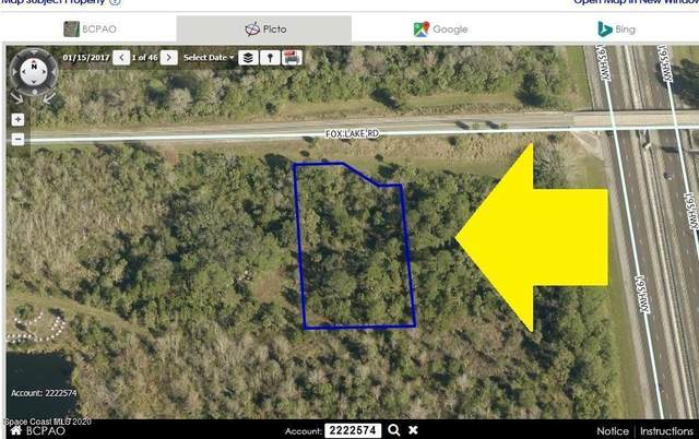 00000 Fox Lake Road, Titusville, FL 32796 (MLS #875336) :: Coldwell Banker Realty