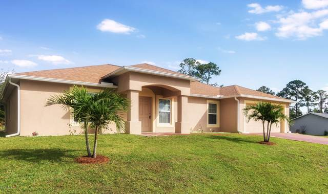454 Ellington Avenue SE, Palm Bay, FL 32909 (MLS #876133) :: Blue Marlin Real Estate