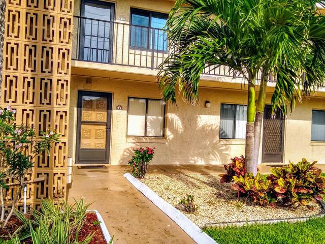 760 S Brevard Avenue #117, Cocoa Beach, FL 32931 (MLS #876252) :: Blue Marlin Real Estate