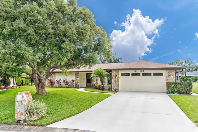 1007 Cedarbrook Court, Melbourne, FL 32940 (MLS #876586) :: Engel & Voelkers Melbourne Central