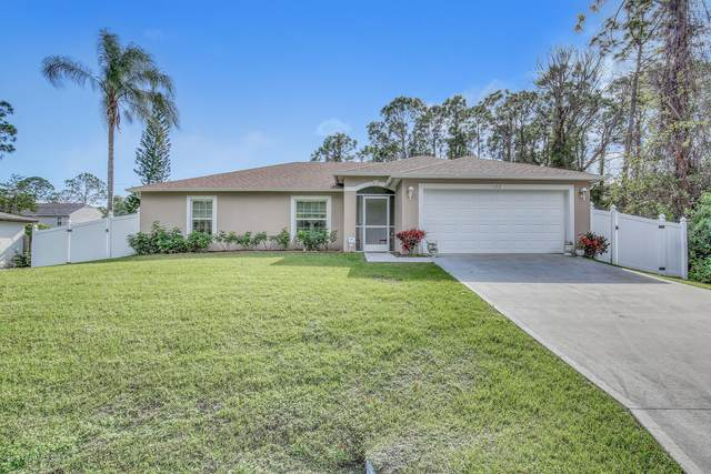122 Okeefe Street, Palm Bay, FL 32909 (MLS #877430) :: Blue Marlin Real Estate