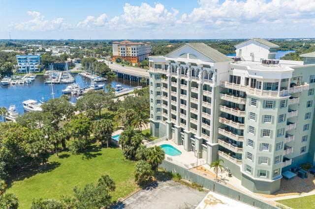 1211 E New Haven Avenue #503, Melbourne, FL 32901 (MLS #877642) :: Blue Marlin Real Estate