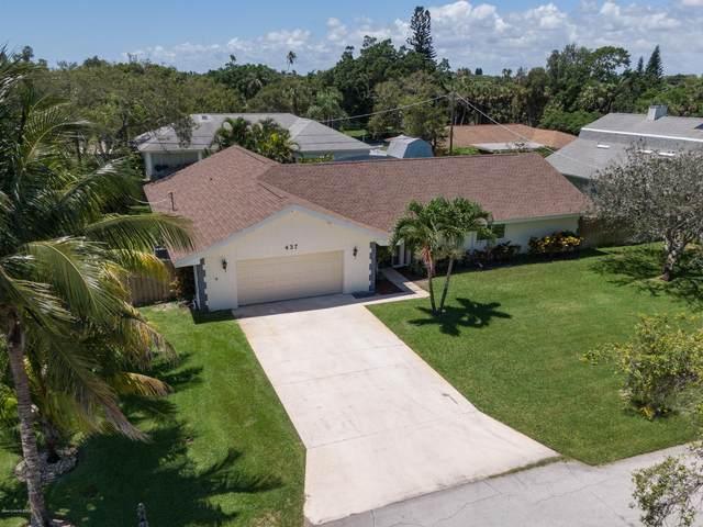 437 11th Avenue, Indialantic, FL 32903 (MLS #877875) :: Blue Marlin Real Estate