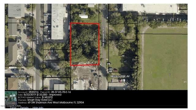 69 SW Shannon Avenue SW, West Melbourne, FL 32904 (MLS #878104) :: Blue Marlin Real Estate