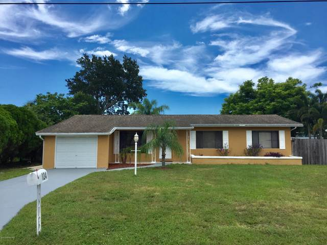 124 Monaco Road, West Melbourne, FL 32904 (MLS #878575) :: Blue Marlin Real Estate