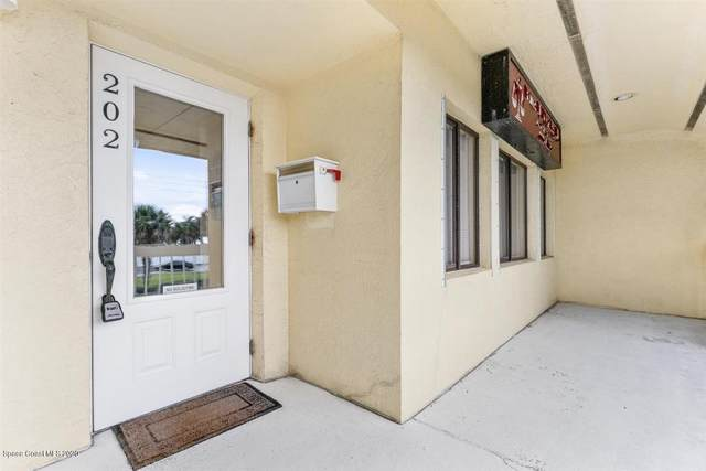 1790 Highway A1a #202, Indian Harbour Beach, FL 32937 (MLS #878618) :: Blue Marlin Real Estate