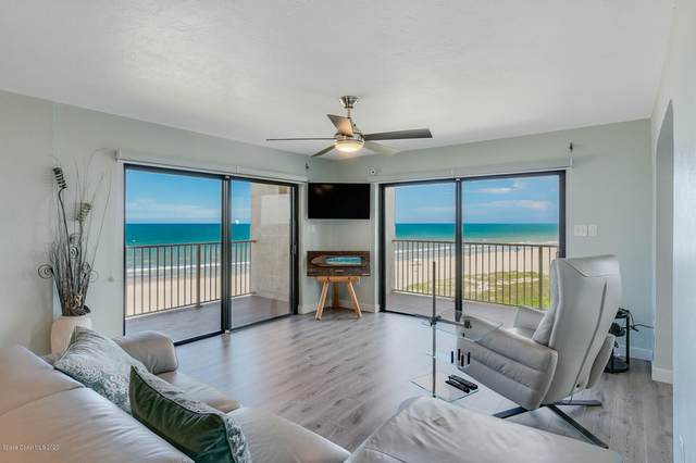7520 Ridgewood Avenue #701, Cape Canaveral, FL 32920 (MLS #878747) :: Blue Marlin Real Estate