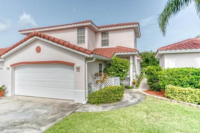 250 St Lucie Lane #17, Cocoa Beach, FL 32931 (MLS #879024) :: Blue Marlin Real Estate