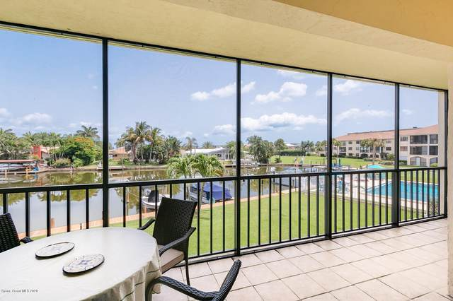 300 Banana River Boulevard #205, Cocoa Beach, FL 32931 (MLS #879301) :: Blue Marlin Real Estate