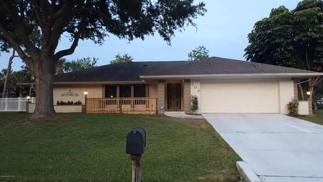 903 Haas Avenue NE, Palm Bay, FL 32907 (MLS #879593) :: Blue Marlin Real Estate