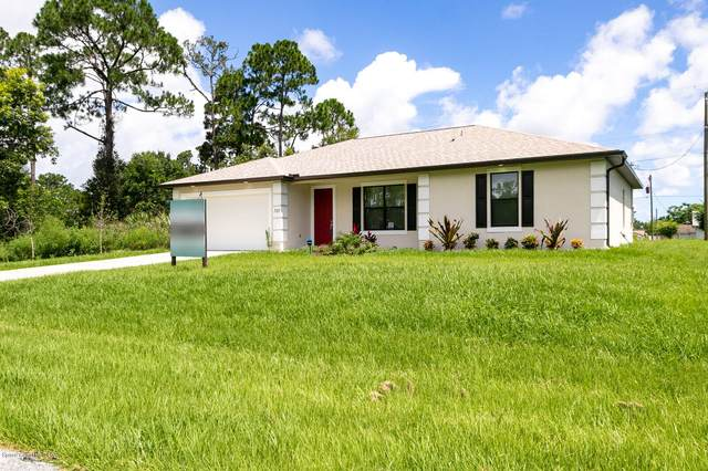 498 Golden Dove Avenue NE, Palm Bay, FL 32907 (MLS #879657) :: Blue Marlin Real Estate