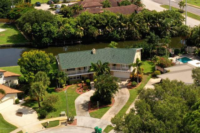 6 Yacht Club Lane, Indian Harbour Beach, FL 32937 (MLS #879881) :: Premium Properties Real Estate Services