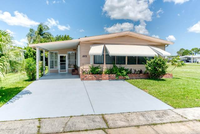 1972 Live Oak Street NE, Palm Bay, FL 32905 (MLS #880266) :: Blue Marlin Real Estate